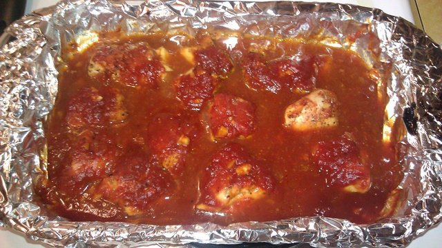 Agave Barbecue Chicken with Sauce