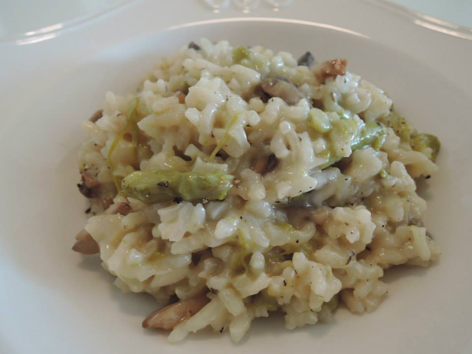 how to make risotto with white rice