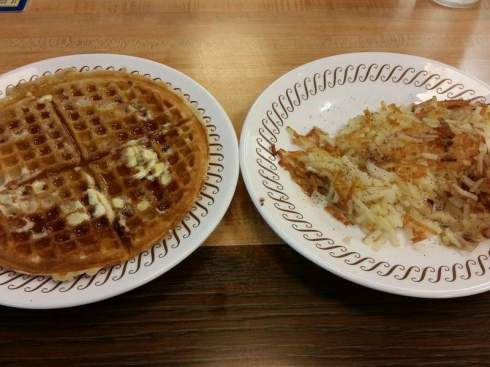 Waffle & Hash browns